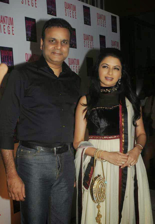 Bhagyashree at Brijesh Singh's book 'Quantum Siege' launch