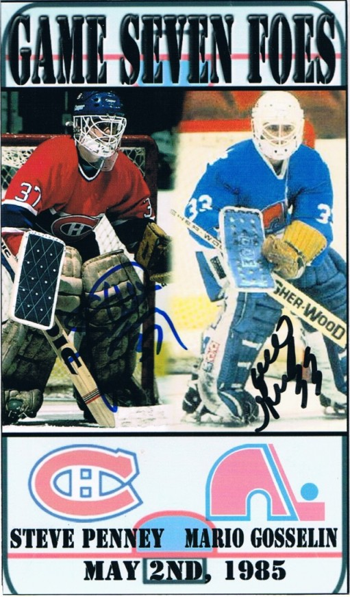Mario Gosselin (ice hockey) The Cardboard and Me TTM Success Mario Gosselin