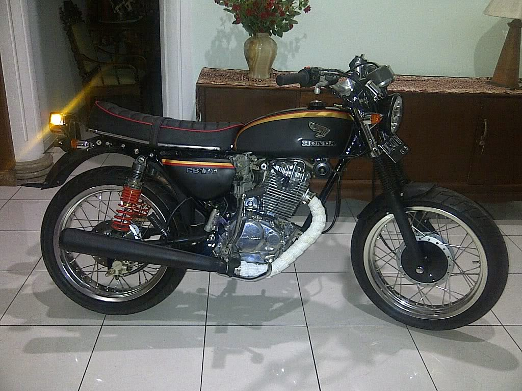 modifikasi motor honda cb 100