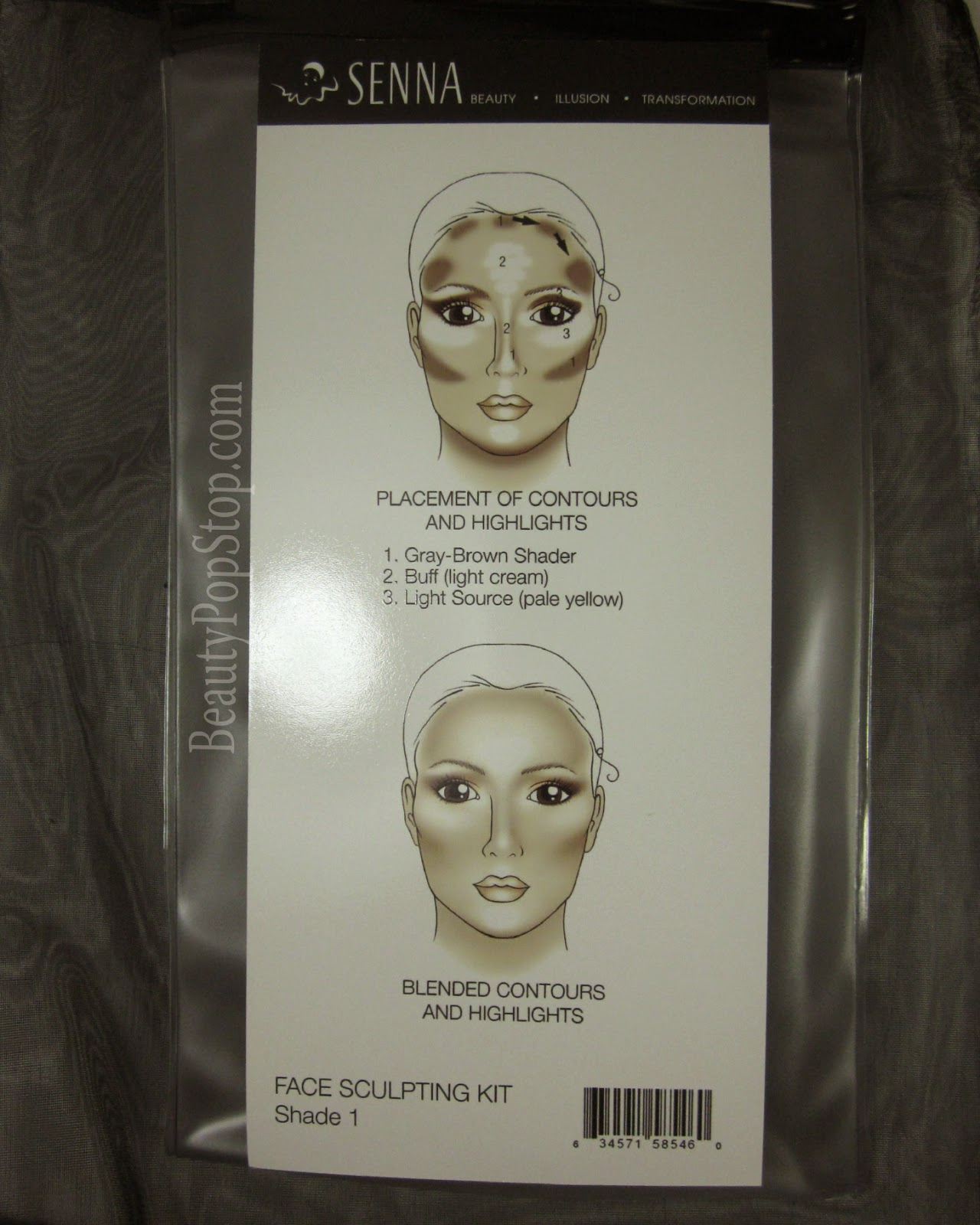 senna sculpting kit shade 1 review