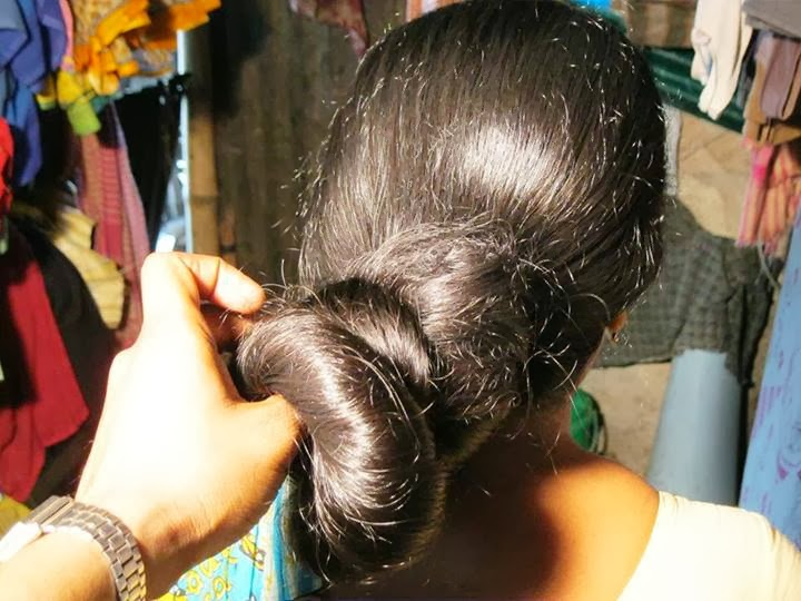 chinese hair bun - 720×540