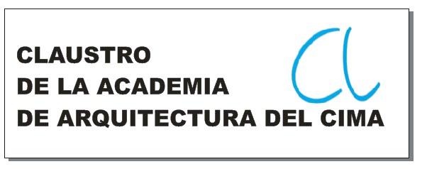 CLAUSTRO DE LA ACADEMIA DE ARQUITECTURA DEL CIMA