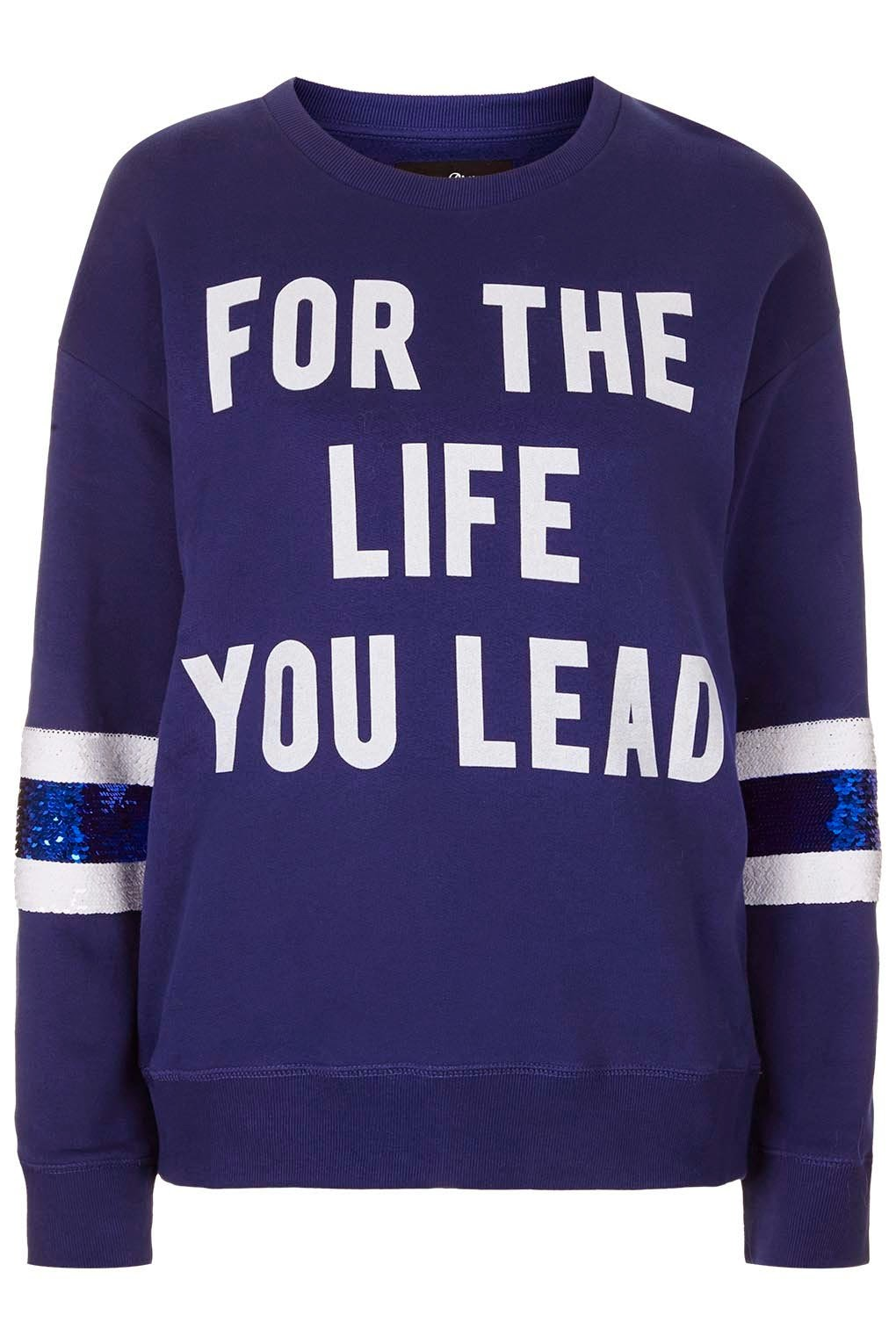 life slogan jumper