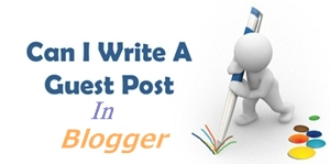 Guest Post System In Blogger Blog