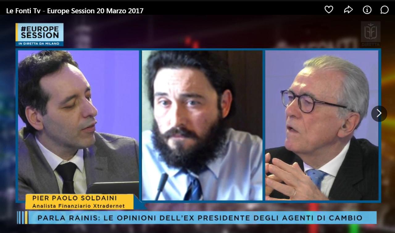 Intervista a Le Fonti TV marzo '17 con Giuseppe Di Vittorio e Tito Rainis