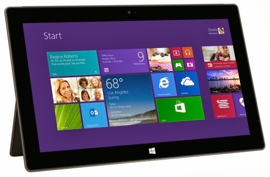 Compare Microsoft's Surface to the iPad