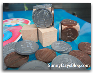 DIY Math Money Manipulatives