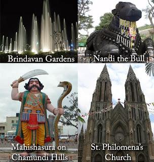 Mysore Tourist spots