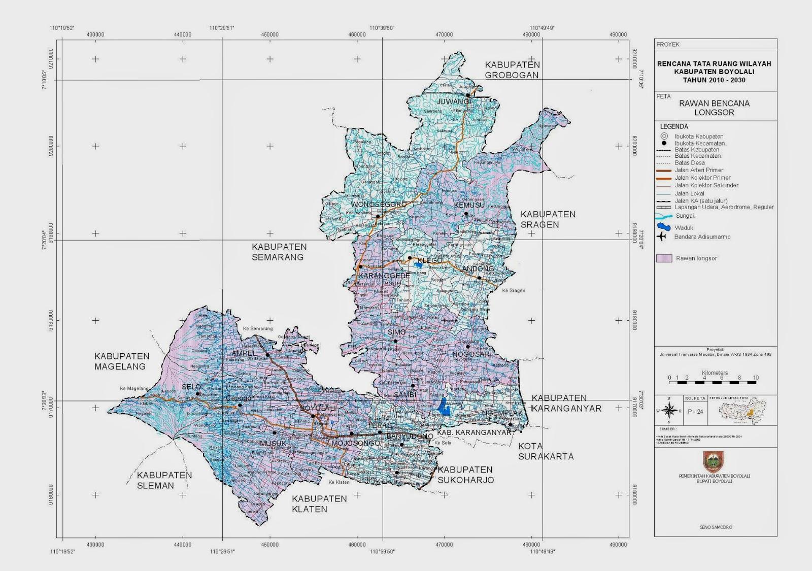 Contoh Layout Peta Dari Layout Peta Tersebut