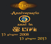 5°ANNIVERSARIO di ASTRAL DREAMS