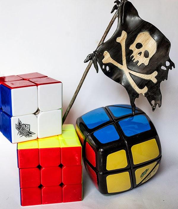 Cyclone boys + Skewb Curvy Rhombohedron Unboxing