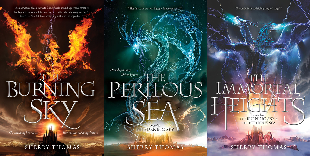 Carina's Books: The Burning Sky by Sherry Thomas