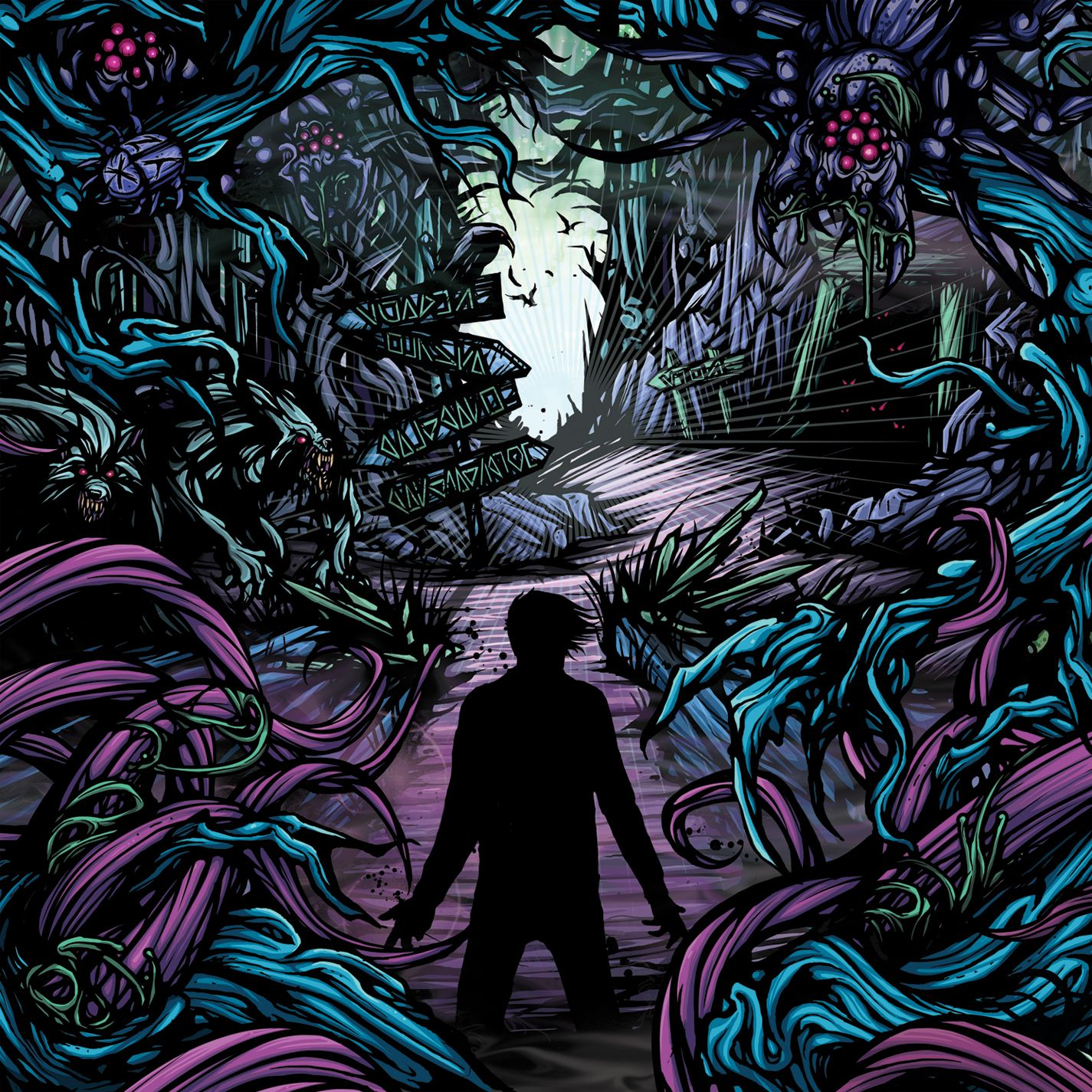 Donnelly's A2 Blog.: November 4th - CD Cover Analysis A Day To Remember Homesick Album Cover