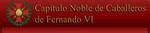 Capitulo Noble de Fernando VI