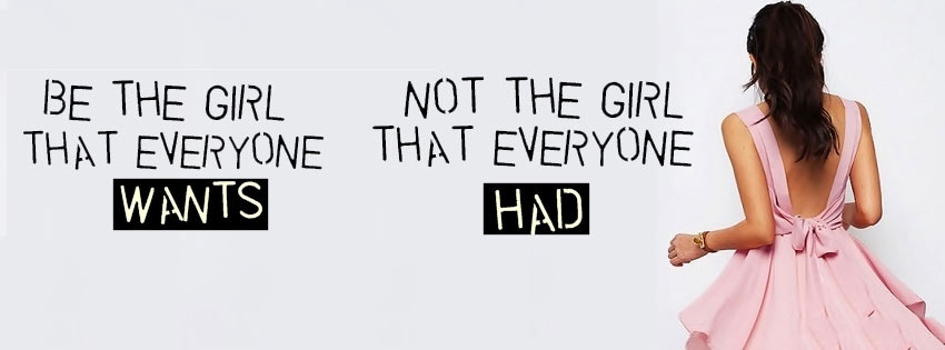 Be The Girl Not The Girl