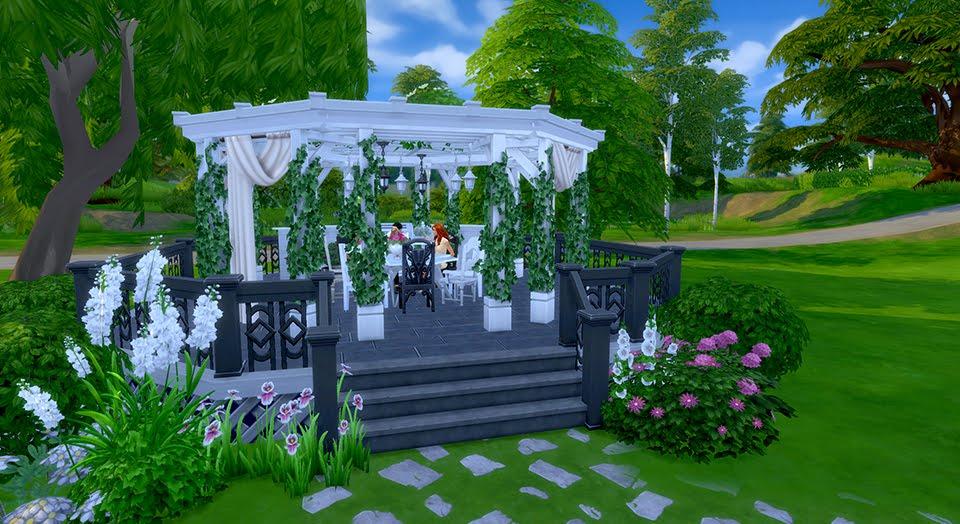 Como criar um terra o incr vel no the sims 4 the sims style for Sims 4 jardin romantico