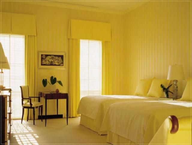 Para sempre lily ideias de decora o quarto amarelo Bright yellow wall paint