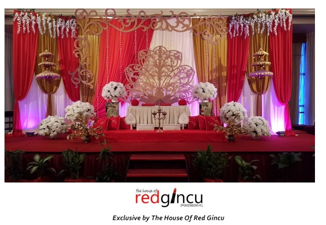 wedding boutique the house of red gincu majlis