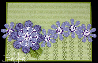 Spiced Paisley Blossom Party Card