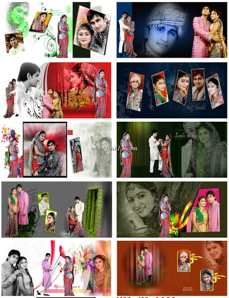 Indian Wedding Album Templates - Karizma Album Designs