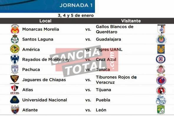 Futbol Mexicano Liga MX - En Vivo