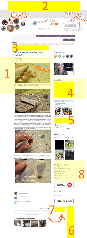 Anuncie no blog donaperfeitinha.com