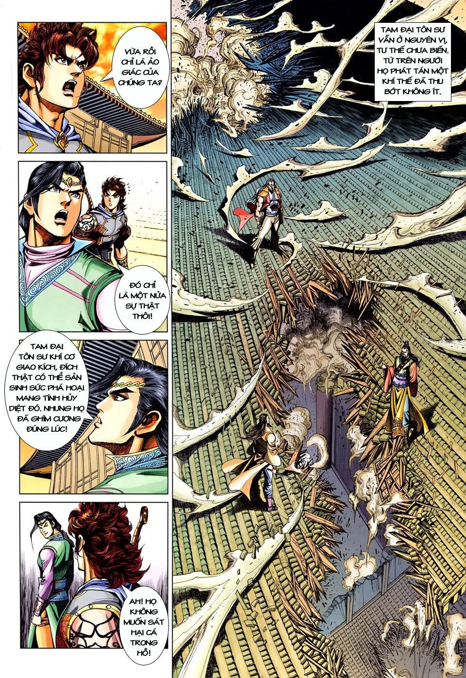 Đại Đường Song Long Truyện chap 250 - Trang 10