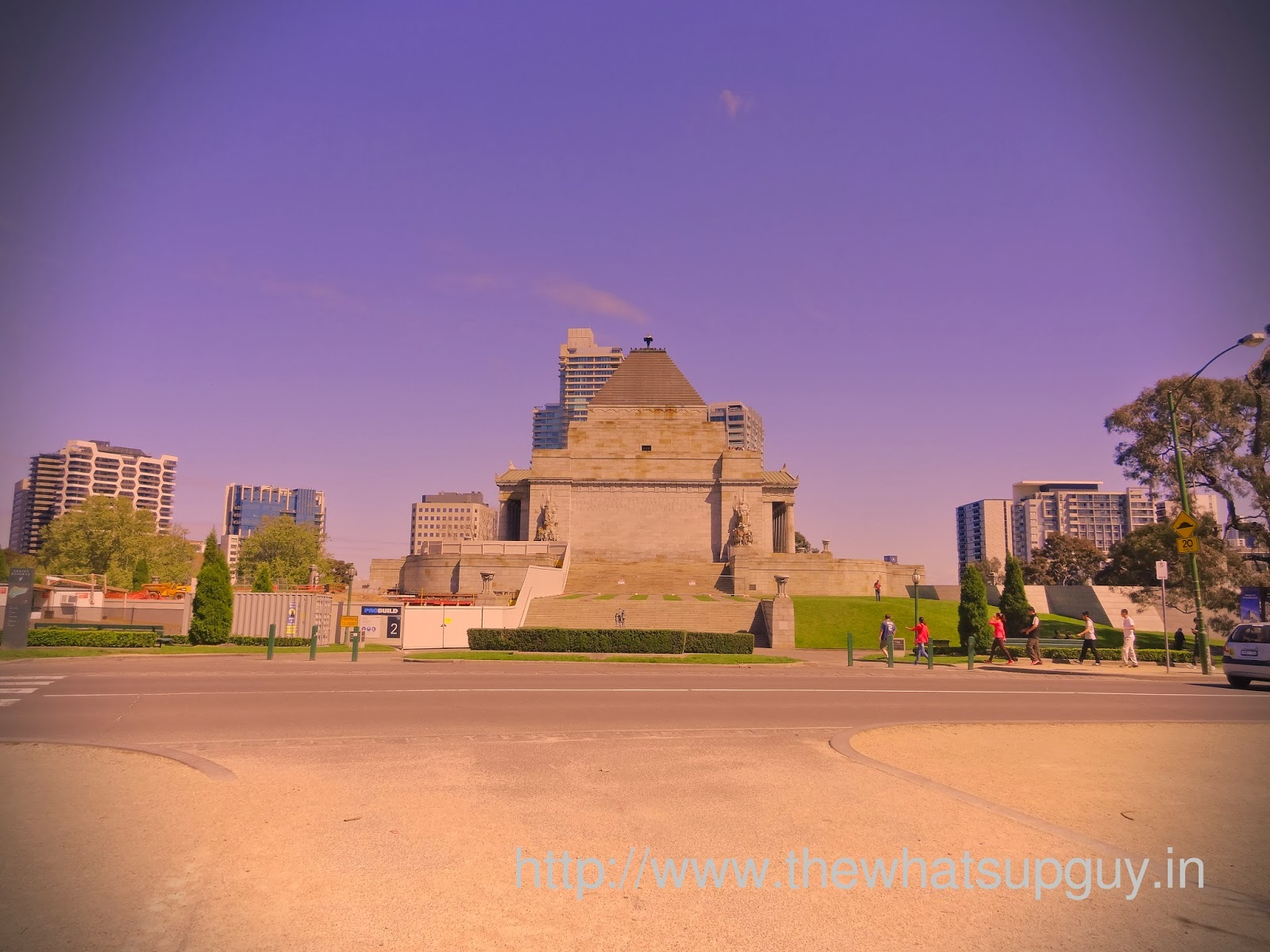 Back of Shrine of Rememberance