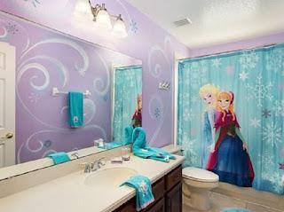 kamar mandi anak frozen