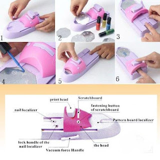 Nail Art Machine - Short Nail Designs