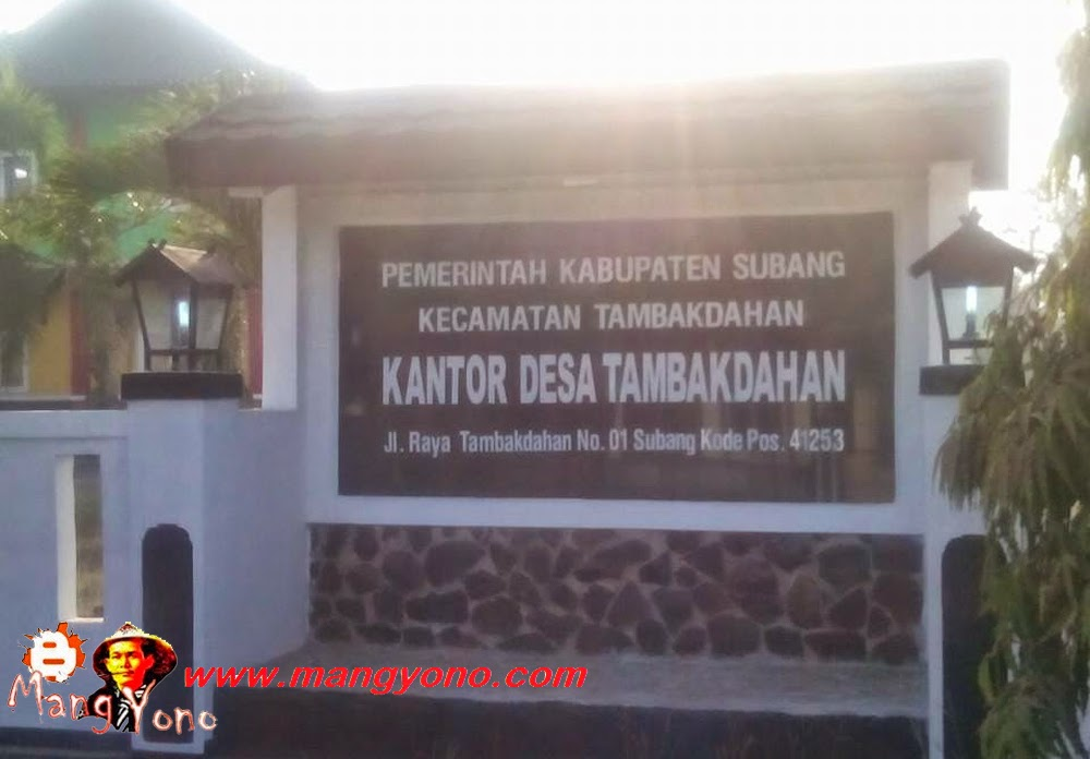 Desa Tambakdahan, Kecamatan Tambakdahan. Poto Jepretan Mang Dawocx Facebooker Subang ( FBS )