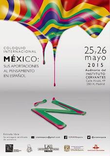 Coloquio México Pensamiento español UAM