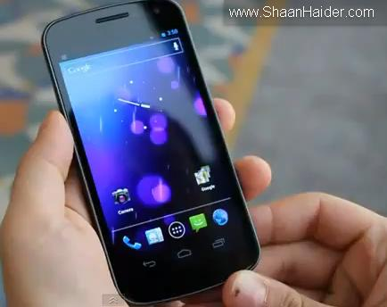 Samsung Galaxy Nexus & Android 4.0 Ice Cream Sandwich Hands-On Videos