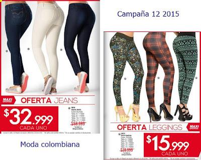 jeans y leggings en oferta 8-15