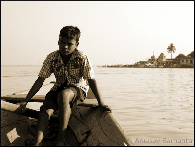 Boating on Chilika Lake from Barkul
