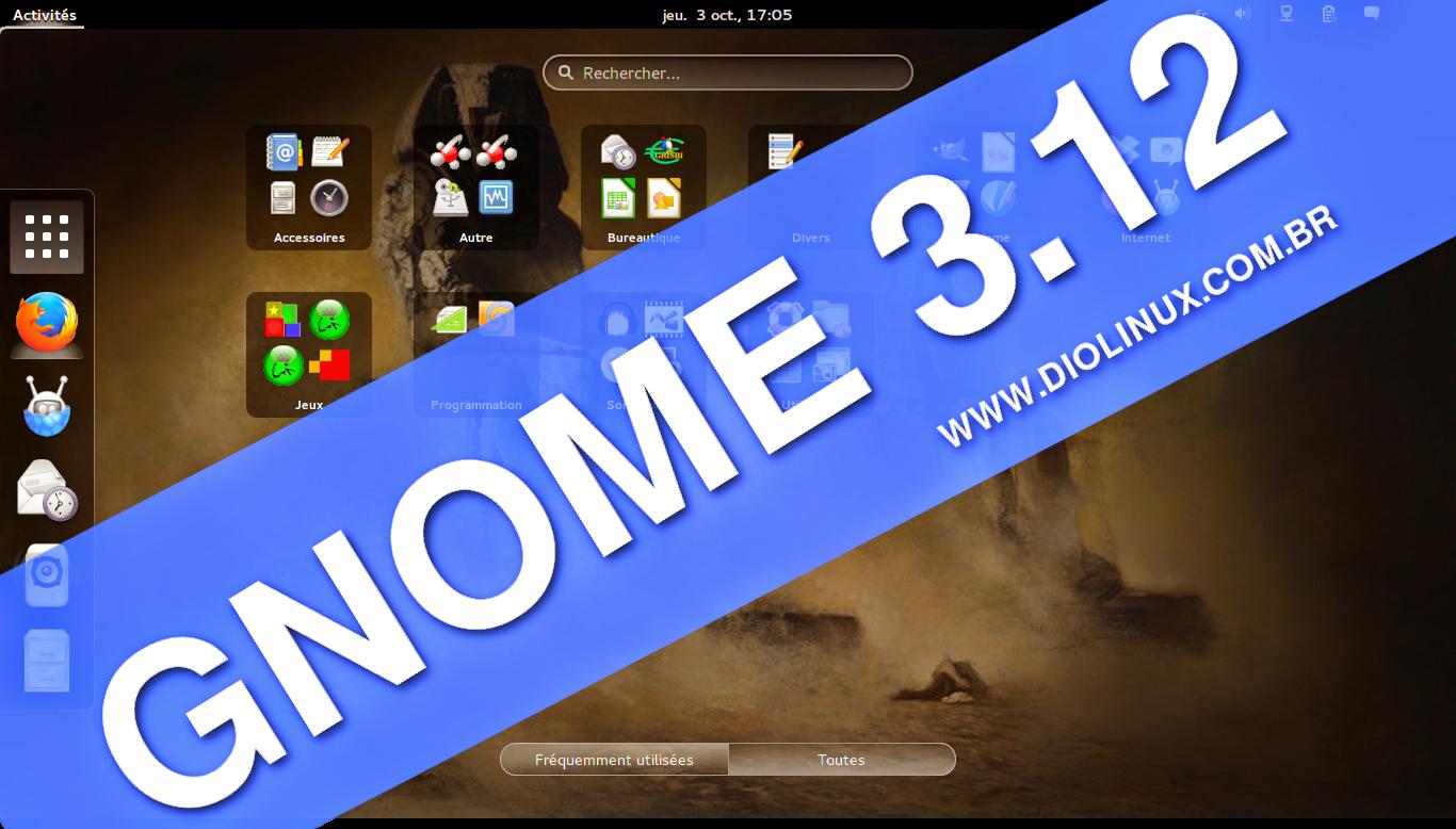 Gnome 3.12 no Ubuntu 14.04 LTS