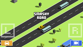[FREE ANDROID GAME] Smashy Road: Wanted - GTA Police Chase Gameplay with Crossy Road-like Graphics