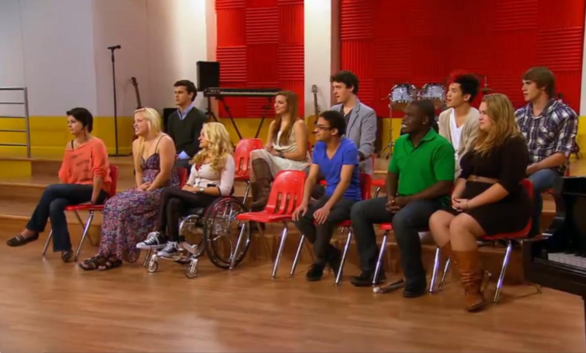 The Glee Project Season 2 Everybody Hurts Lyrics