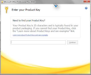 visio pro 2010 product key