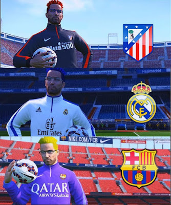 PES 2015 Master League Manager Kits