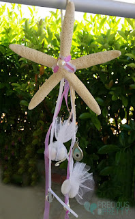 bombonieres for christening with starfish