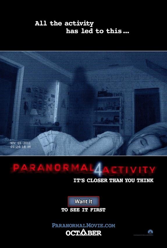ตัวอย่างหนังใหม่ : Paranormal Activity 4 (เรียลลิตี้ ขนหัวลุก 4) ซับไทย