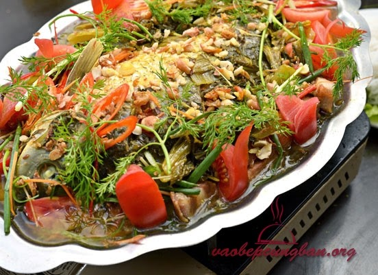 Món Cá chép Om dưa thơm ngon dễ làm