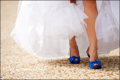 GOINGKOOKIES In MELBOURNE BLUE Wedding Shoes