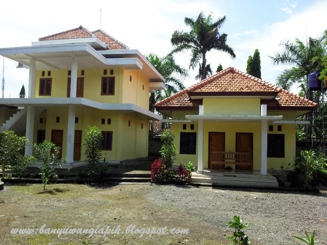 Rumah singgah Gua Maria Jatiningrum Curahjati, Banyuwangi.
