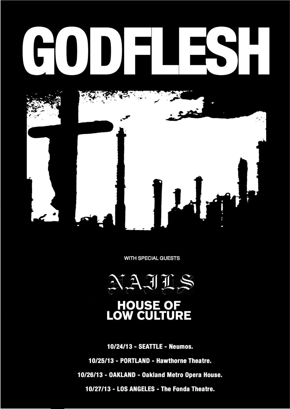 Godflesh Tour Usa