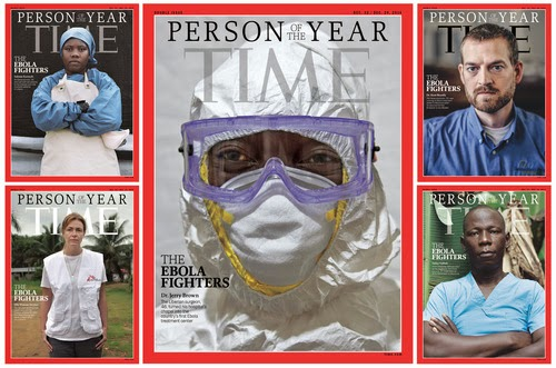 Photos Ebola Fighters named Time's Person of the Year