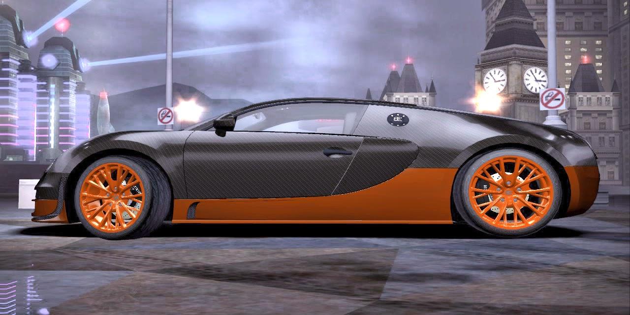 Bugatti Veyron Super Sport Carbon