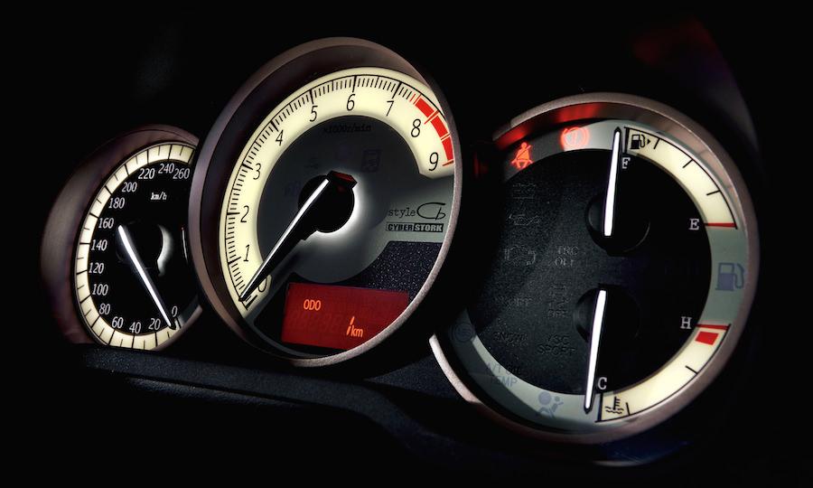 トヨタ86スタイルCb アナログメーター