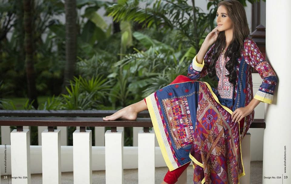 Anaya Embroidered Summer 2015 Lawn Collection